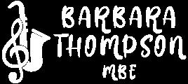 Barbara Thompson MBE Logo